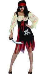 Zombie Pirate Costume (HF5063)